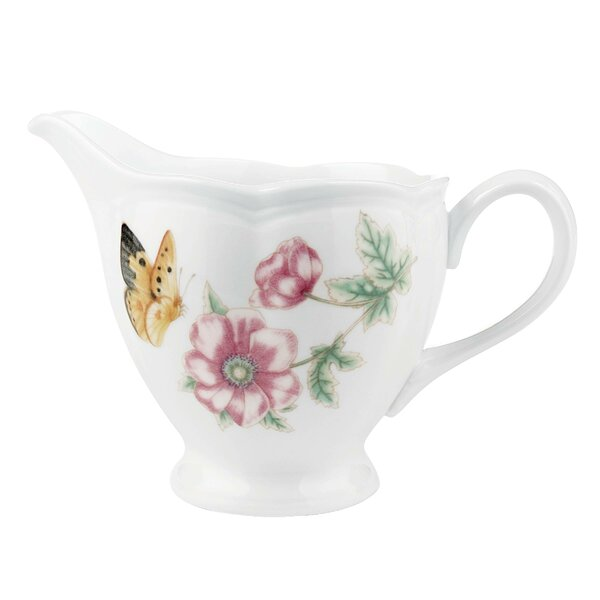 Butterfly Meadow 7 oz. Creamer by Lenox