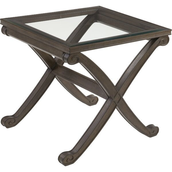 Baronne II End Table by Darby Home Co