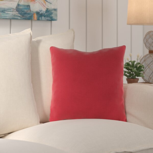 Crofton Outdoor Sunbrella Throw Pillow (Set of 2) by Beachcrest Home