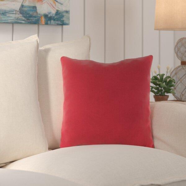 Crofton Outdoor Sunbrella Throw Pillow (Set of 2) by Beachcrest Home