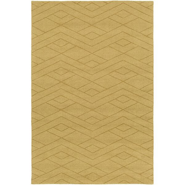 Julian Hand-Woven Wheat Area Rug by Corrigan Studio