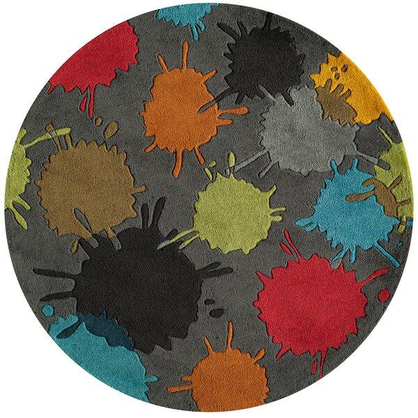 Fabio Hand-Tufted Gray Kids Rug by Viv + Rae