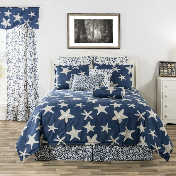 Kelloch Palm Beach Tropical Starfish and Corals Comforter Set