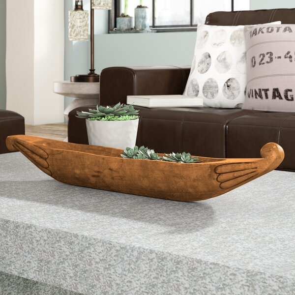 Rockwood Ship Fluted Decorative Bowl by Trent Austin Design