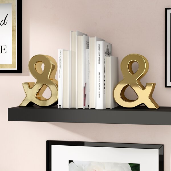Hundt Bookend (Set of 2) by Willa Arlo Interiors