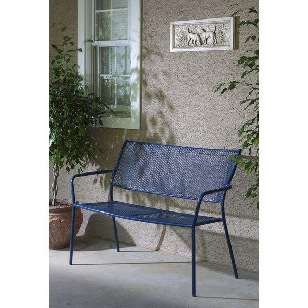 Latorre Wrought Iron Garden Bench by Brayden StudioLatorre Wrought Iron Garden Bench by Brayden Studio