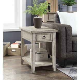 Fulcher End Table with Storage ByHighland Dunes