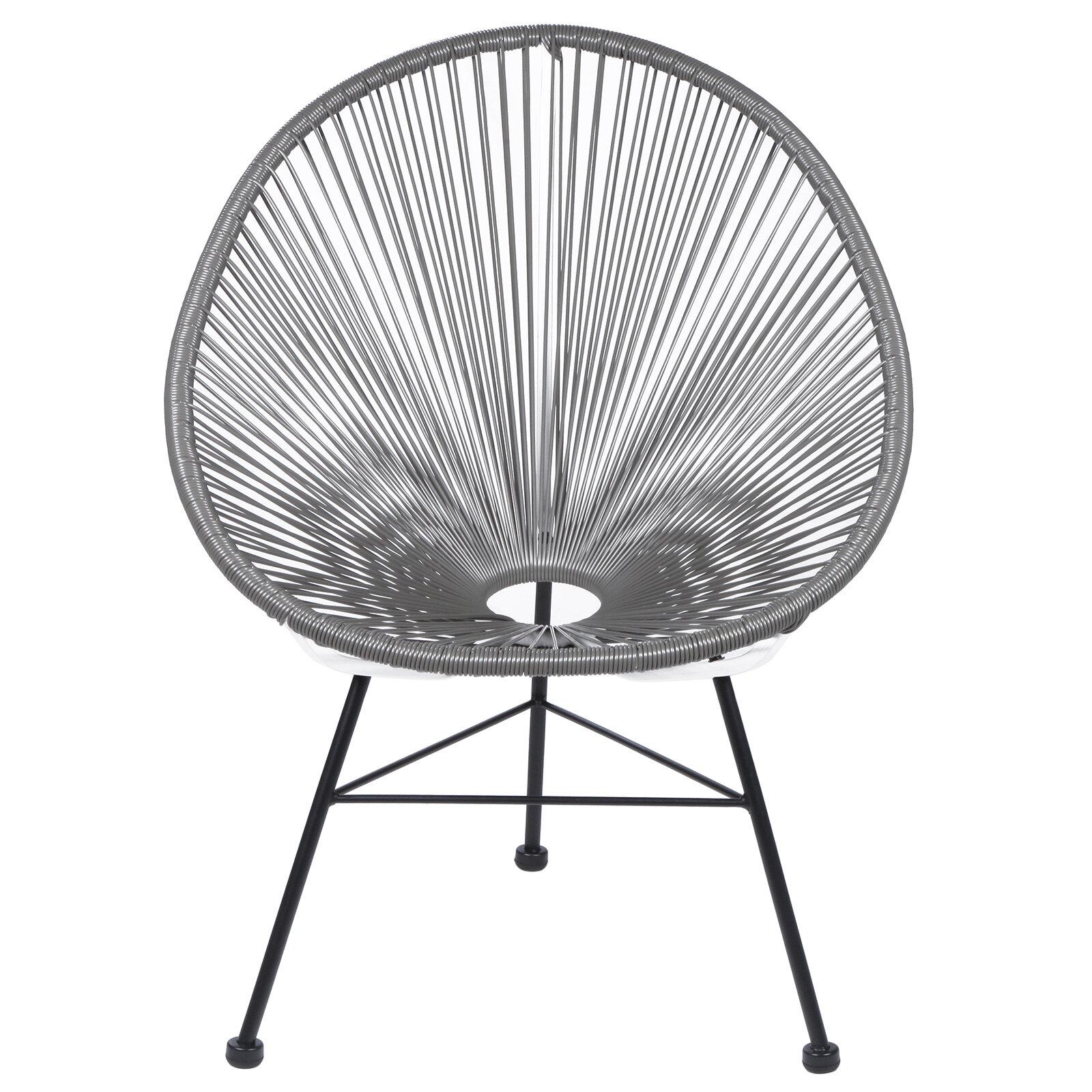 PoliVaz Acapulco Wire Basket Papasan Chair U0026 Reviews | Wayfair