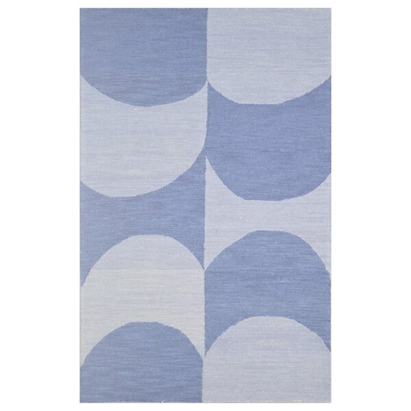 Wool Hand-Tufted Silver/Blue Area Rug by Eastern Weavers