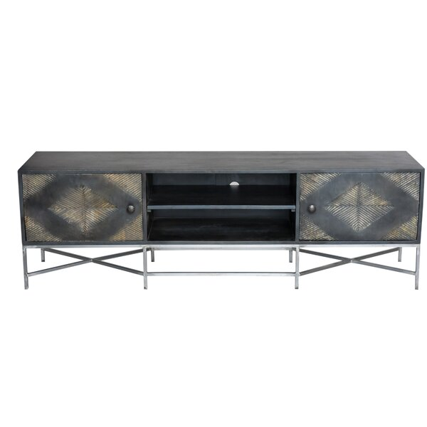 muir Solid Wood TV Stand for TVs up to 78 inches by Wrought Studio Wrought Studio