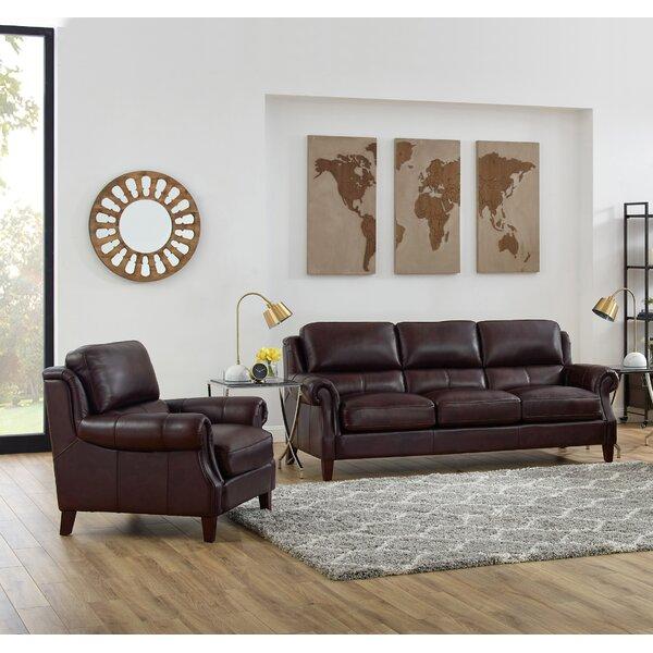 Floodwood 2 Piece Leather Living Room Set By Red Barrel Studio