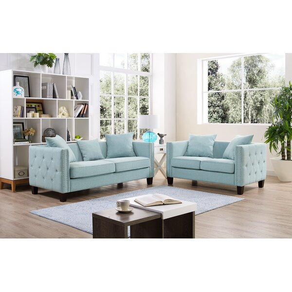 Barnstable 2 Piece Living Room Set by Charlton Home