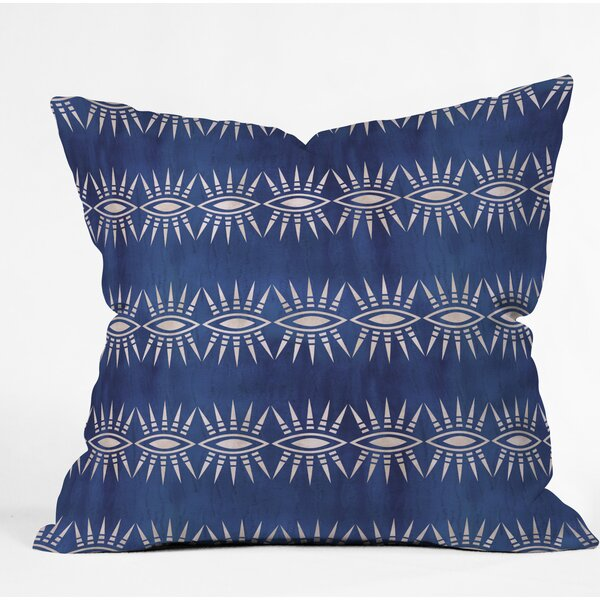 Schatzi Mila Eye Throw Pillow by East Urban Home