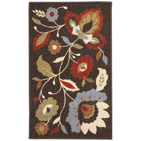 Hodgins Gray/Blue Area Rug by Alcott Hill