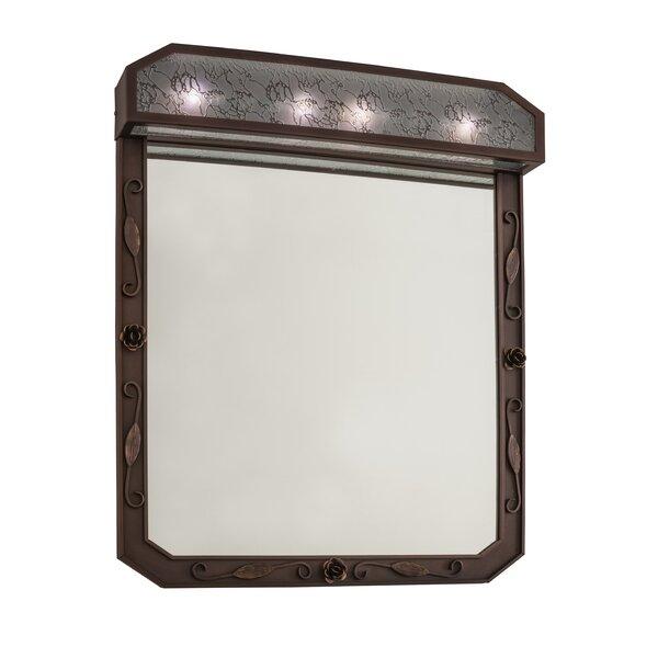 Arabesque Lighted Bathroom/Vanity Mirror