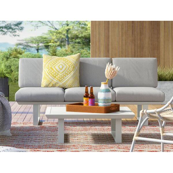 Mcclelland 2 Piece Sofa Seating Group with Cushions by Mercury Row Mercury Row