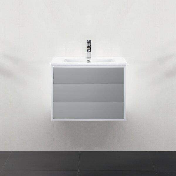 Donze 24 Single Wall-Mounted Bathroom Vanity Set by Latitude Run