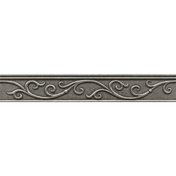 Ambiance Gothic Leaf Liner 1-3/4 x 12 Resin Tile i