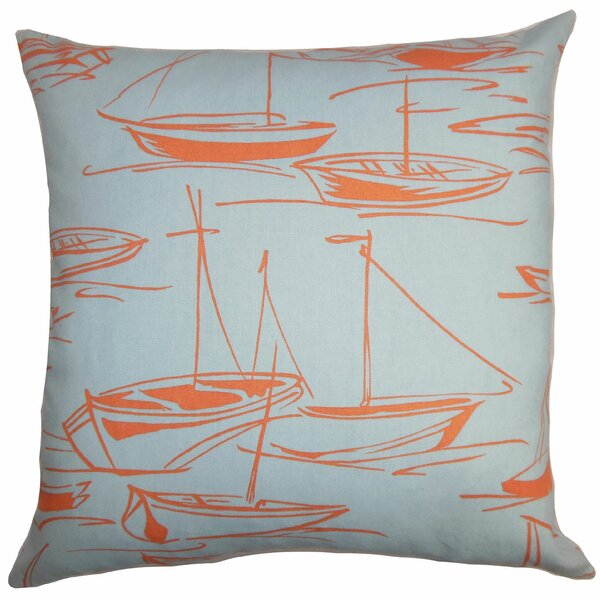 Gamboola Cotton Throw Pillow by The Pillow Collection