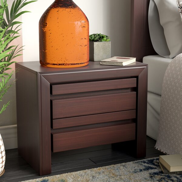 Aries 2 Drawer Nightstand by Mistana