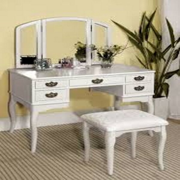Jann Vanity Set With Mirror By Darby Home Co