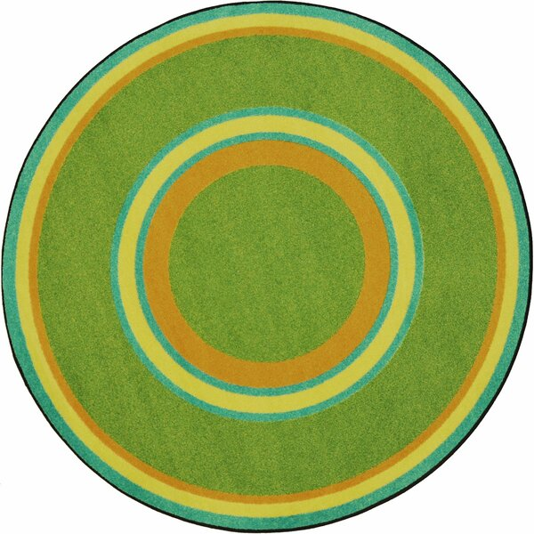 Hand-Tufled Green Area Rug by The Conestoga Trading Co.