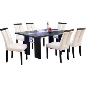 Haddonfield 7 Piece LED Dining Set