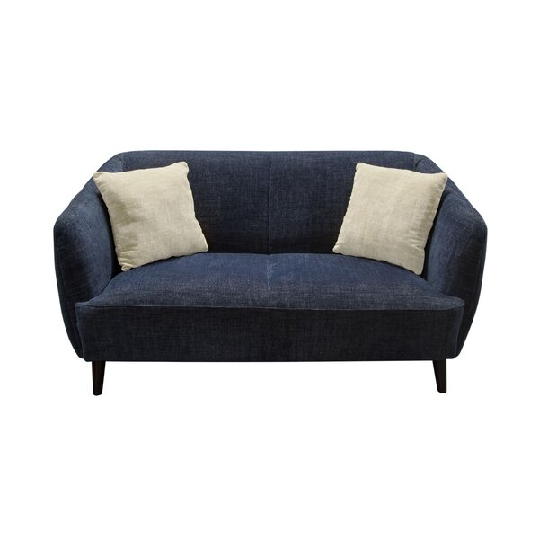 De Luca Standard Loveseat by Diamond Sofa