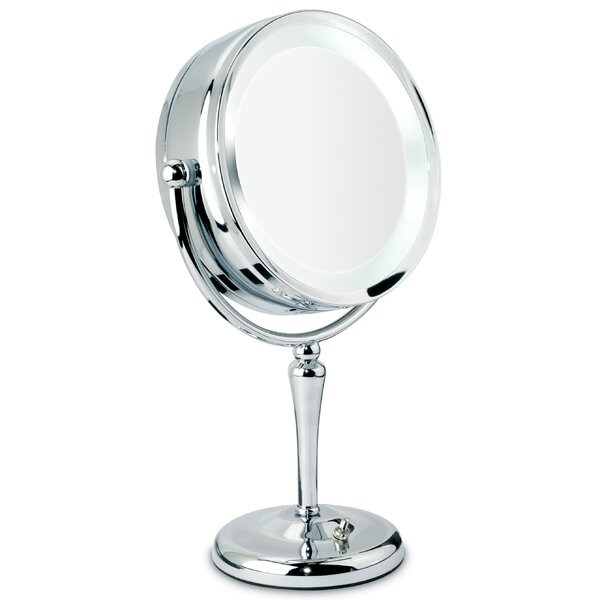 Revolving Lit Vanity Mirror by Danielle Creations