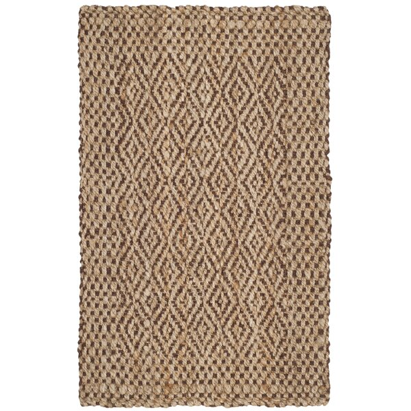 Lylee Fiber Hand-Woven Natural/Brown Area Rug by Laurel Foundry Modern Farmhouse
