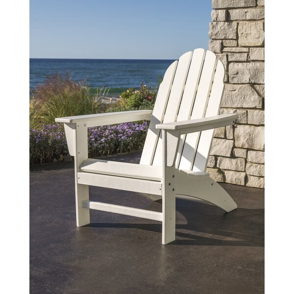 Vineyard Plastic/Resin Adirondack Chair by POLYWOOD POLYWOOD®