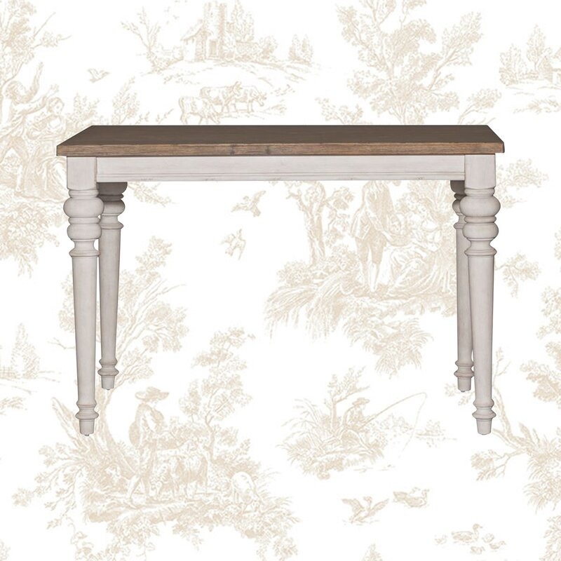 Marion Counter Height Extendable Dining Table - you're going to love these furniture and decor pieces Kelly curated for Wayfair! #furniture #frenchcountry #kellyclarksonhome #diningtables #diningroomdecor