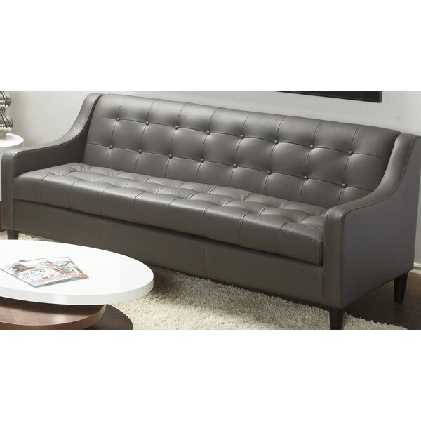 Web Order Cameo Leather Sofa by Lind Furniture by Lind Furniture
