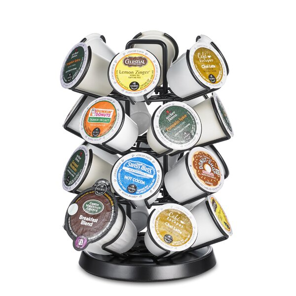 24-Pod Steel Carousel for Keurig K-cup by Java Concepts