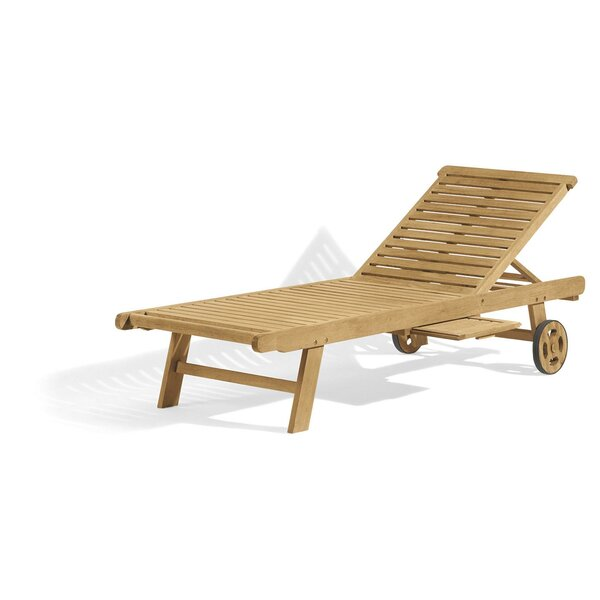 Corr Reclining Chaise Lounge By Highland Dunes