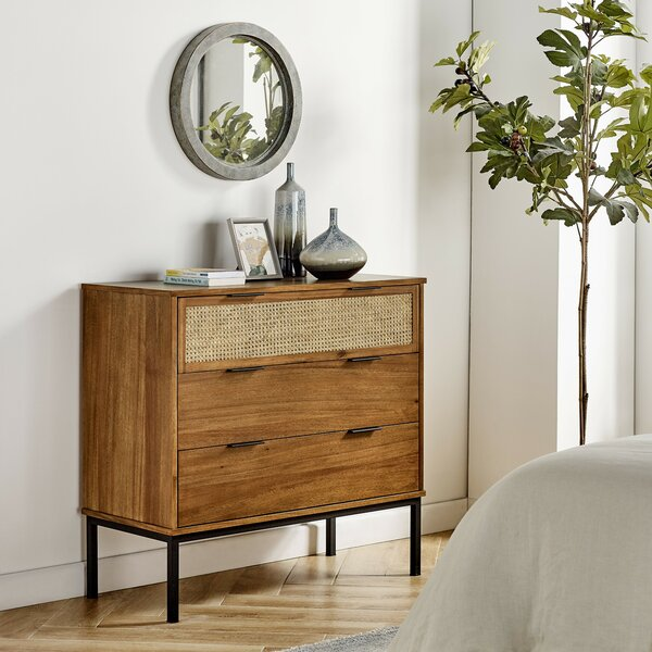 Fahey 3 Drawer Dresser by Bay Isle Home