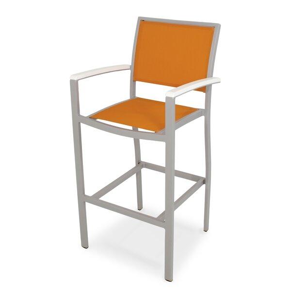 Bayline 30 Bar Arm Chair by POLYWOOD®