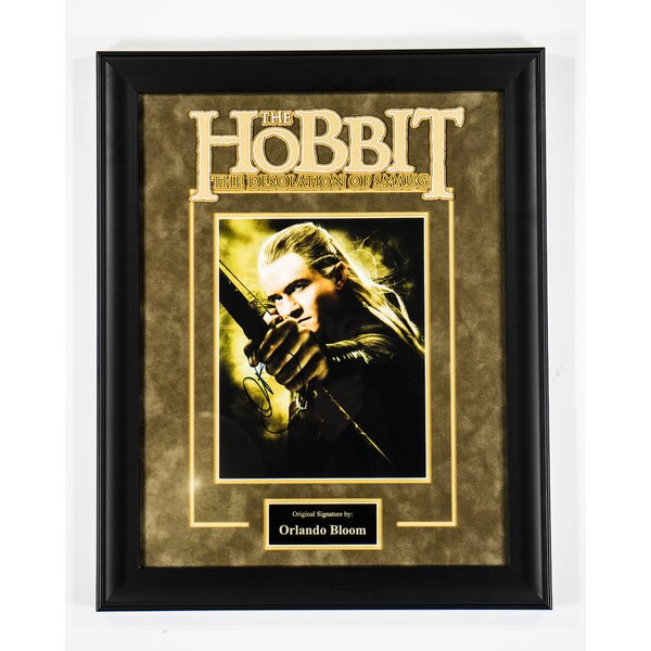 The Hobbit - The Desolation of Smaug Framed Autographed Photograph by LuxeWest