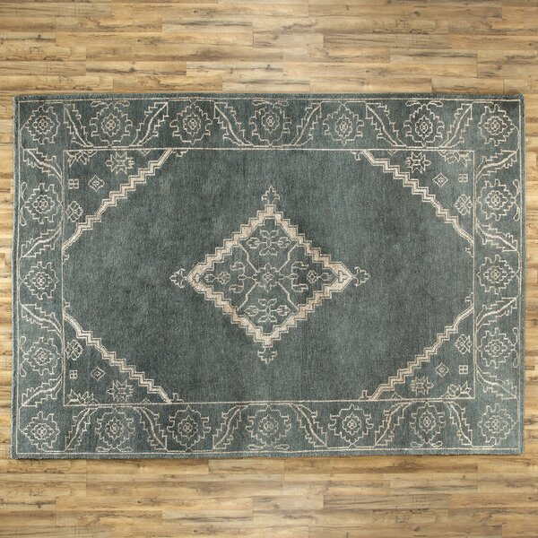 Desi Slate & Ivory Rug by Birch Lane™