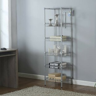 Find Aubree 6-Tier Sturdy Wire Shelving Steel Baker's Rack Compare
