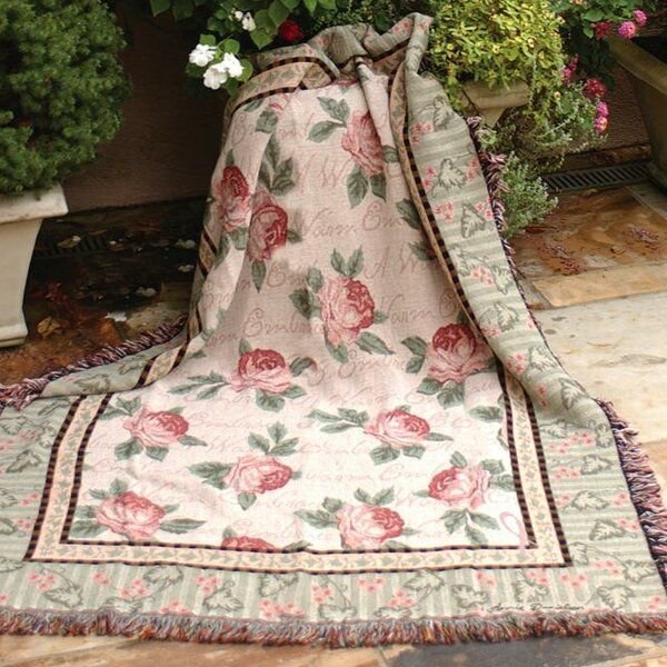 Warm Embrace Tapestry Cotton Throw by Manual Woodworkers & Weavers