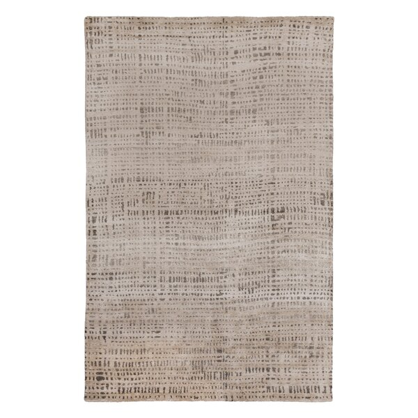 Baxter Hand Knotted Cinder Area Rug by DwellStudio