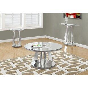 Best Price Tenafly 3 Piece Coffee Table Set ByLatitude Run