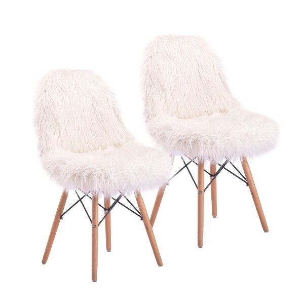Engles Fuzzy Side Chair (Set of 2) by Mercer41