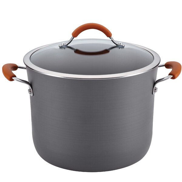 Cucina 10 Qt. Stock Pot with Lid by Rachael Ray