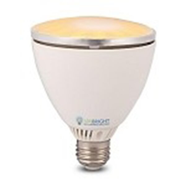 10W Orange 110/120-Volt LED Light Bulb by Queens of Christmas