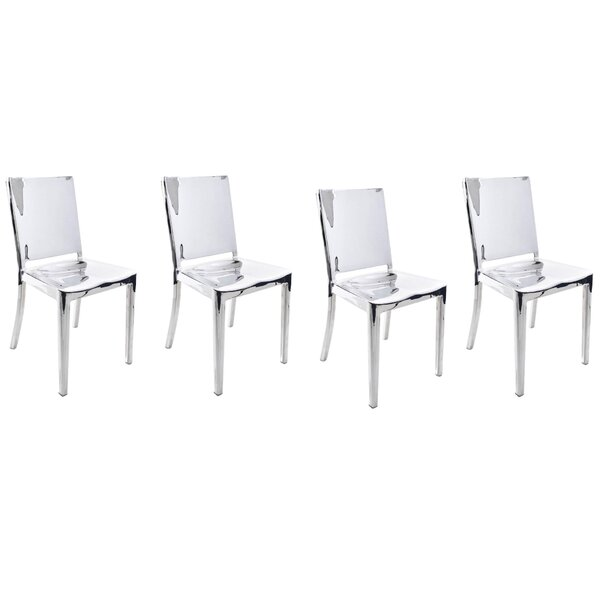 Portillo Arm Less Dining Chair (Set of 4) by Orren Ellis