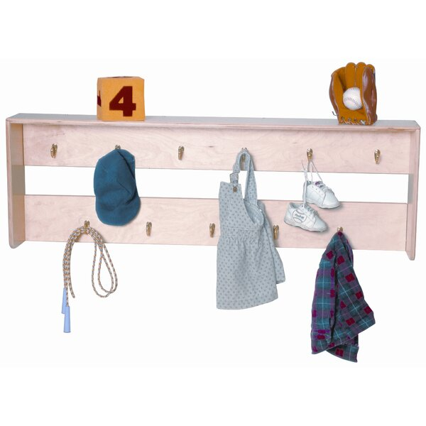 5 Compartment Shelving Unit by Wood Designs