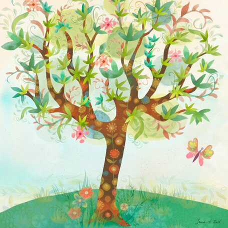 Spring Breeze Canvas Art by Oopsy Daisy