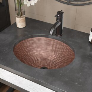 Reviews Single Bowl Copper Oval Vessel Bathroom Sink With Drain Assembly By René By Elkay
